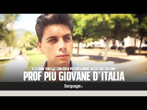 andrea: il professore più giovane d'italia! cattedra a soli 21 anni!