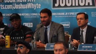 Anthony Joshua vs  Dillian Whyte - Final Press Conference