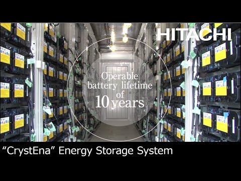 "Energy Storage Solution ""CrystEna"" - Hitachi"