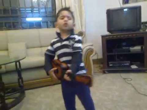 Young Atif Aslam 2 – Childhood Rocks