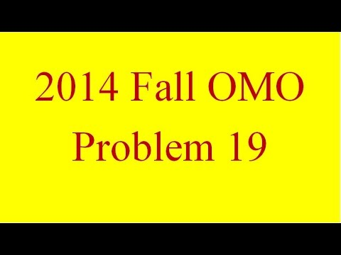 Incenter Excenter Lemma 07 - 2014 Fall OMO