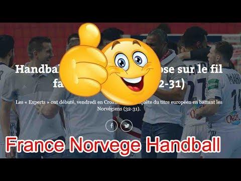 Des choses très étranges sont arrivées  france norvege handball 2018 - france norvege 2018