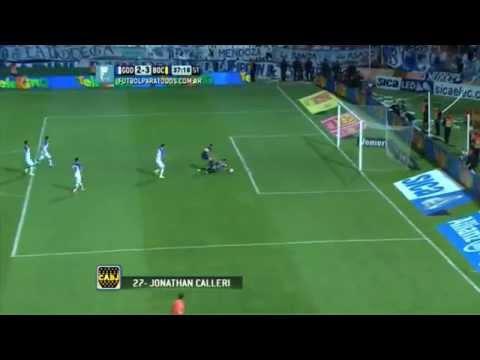 DE - Mirá el gol de Calleri con el que Boca dio vuelta el encuentro ante el Tomba.
