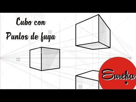 Video Tutorial de dibujo │ Dibujar un cubo con puntos de fuga download in MP3, 3GP, MP4, WEBM, AVI, FLV January 2017