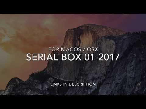MacOS / OSX — Serial Box 01-2017 (for iSerial reader) databases