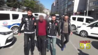 SAMSUN'DA UYUŞTURUCU SATICISI POLİSTEN KAÇAMADI