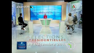 Fil rouge spécial élection partie - Canal Algérie