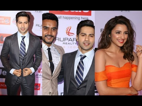 Varun Dhawan | Parineeti Chopra | Shashank Khaitan At HT Most Stylish Awards 2017