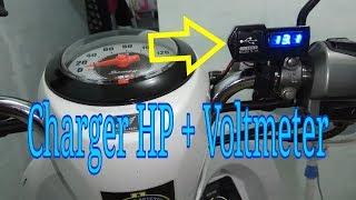 Video Pasang charger hp di motor MP3, 3GP, MP4, WEBM, AVI, FLV Oktober 2018