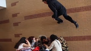 Parkour at school