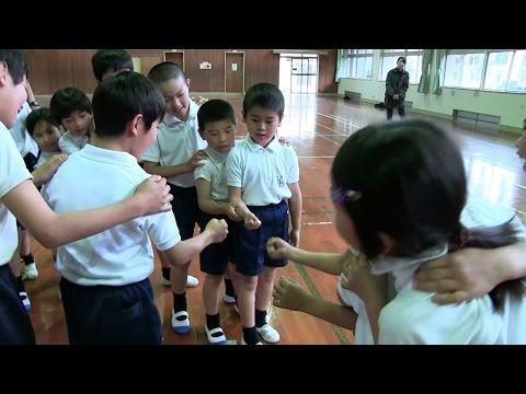種子島の学校活動:岩岡小学校新一年生を迎える会