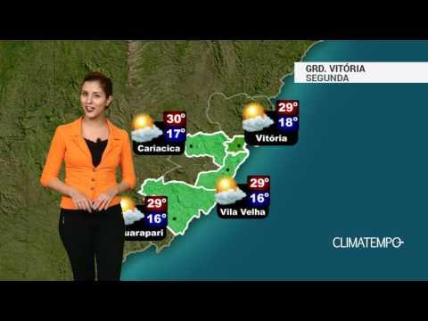 Imagens de calor - Previsão Grande Vitória - Mais calor para a região