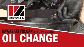 6. 2015 Kawasaki Vulcan 1700 Vaquero Oil Change | Partzilla.com