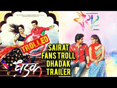 Dhadak Trailer Receives Hate From Sairat Fans | Dh