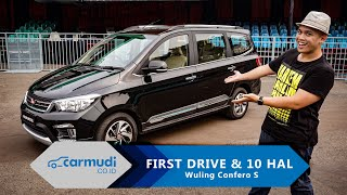 Video Wuling Confero S 2017 Indonesia  - FIRST DRIVE REVIEW & 10 HAL yang Perlu Diketahui MP3, 3GP, MP4, WEBM, AVI, FLV Desember 2017