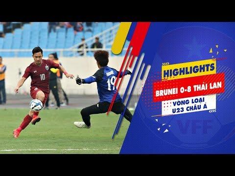 HIGHLIGHTS | U23 Thái Lan dễ dàng hủy diệt U23 Brunei 8 bàn không gỡ | VFF Channel - Thời lượng: 5 phút, 29 giây.