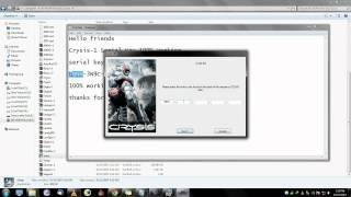 Crysis 1 Serial Key 100% Working (Must Watch)