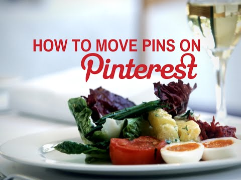 how to navigate pinterest