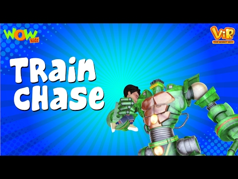 Video The Train Chase   Vir : The Robot Boy WITH ENGLISH, SPANISH & FRENCH SUBTITLES   WowKidz download in MP3, 3GP, MP4, WEBM, AVI, FLV January 2017