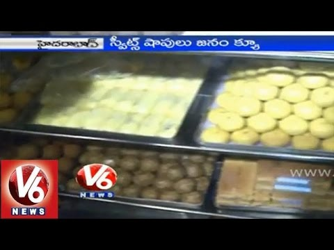 V6 special program on Diwali special sweets