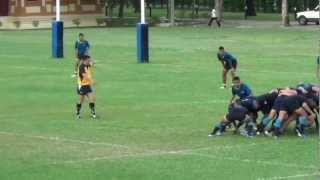 Match Highlight Thailand Rugby Union 2012 U17 Qualifying