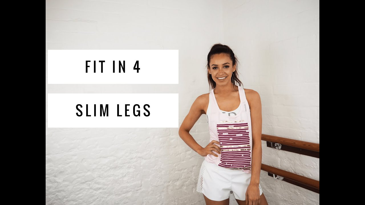 WORKOUT FOR STRONG SLIM LEGS | Danielle Peazer