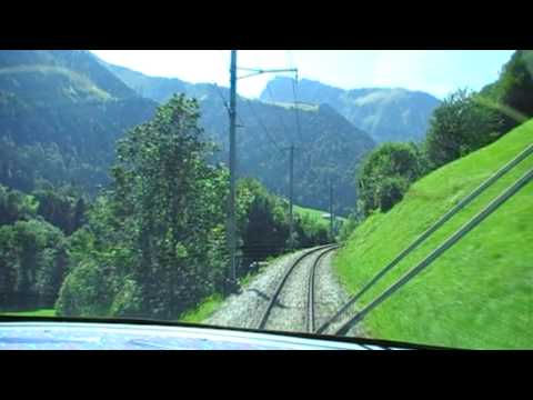 ZweisimmenMontreux. GoldenPass Line Train. Switzerland