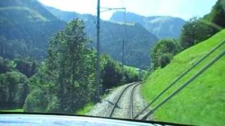 Montreux Switzerland  city images : Zweisimmen-Montreux. GoldenPass Line Train. Switzerland