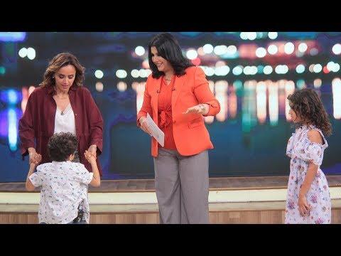 شاهد اللقاء الكامل مع علا رشدي وأولادها في برنامج  معكم منى الشاذلي    في الفن