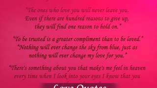 Love Quotes YouTube video