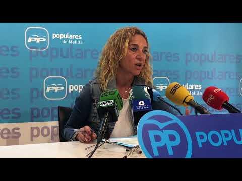 """Donoso: """"Melilla tiene futuro, estamos convencidos, y no vamos a parar de tomar iniciativas"""""""