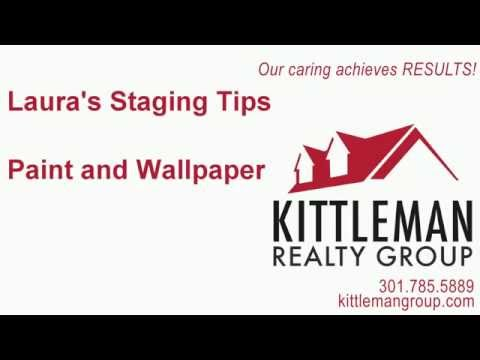 Laura's Staging Tips – Paint and Wallpaper