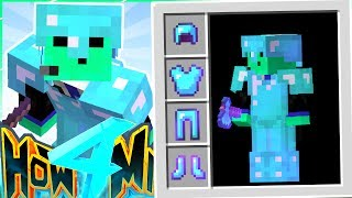 MY FIRST DIAMOND ARMOR GOD SET - How To Minecraft S4 #51