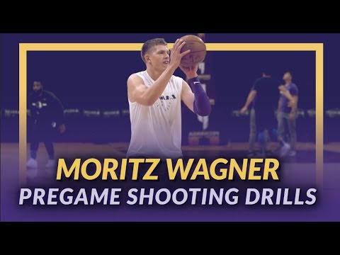 Video: Lakers Pre-Game: Moritz Wagner Shooting Drills Before His First Game Back vs The Mavs
