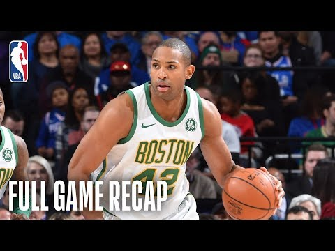 Video: CELTICS vs 76ERS | Back And Forth Battle In Philly | February 12, 2019