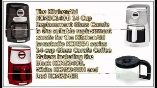 Kitchenaid Javastudio KCM534 14 cup Replacement Carafe