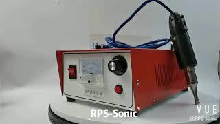 35 kHz Portable Ultrasonic Spot Welding Machine for Ultrasonic Welding youtube video