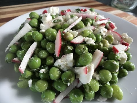 You Suck at Cooking Pea and Radish Salad