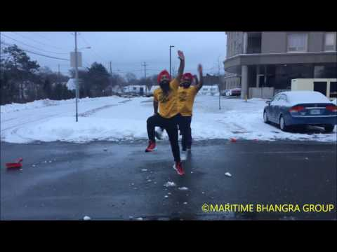Dance The Snow Shoveler Bhangra