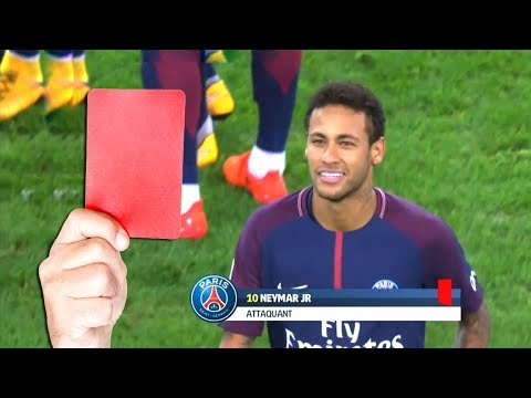 Top 20 Famous Red Cards In Football