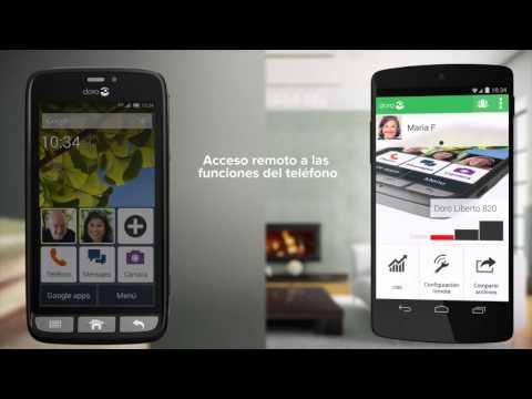 Doro Liberto 820 Mini - Teléfono Móvil Táctil -Negro-