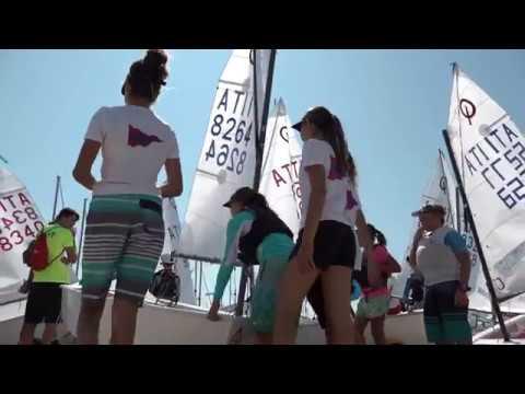 Coppa Primavela a Crotone, 2° giornata: niente vento, regatano solo in due