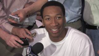 Wesley Johnson Draft Combine Interview - Part 1