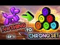 *NEW* TRADING FROM NOTHING TO CHRONO SET!! EP1 (Rocket League Trading Montage)