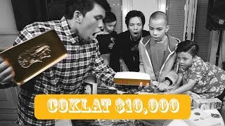 Video UNBOXING Chocolate $10,000 DOLAR + Giveaway MP3, 3GP, MP4, WEBM, AVI, FLV Maret 2019