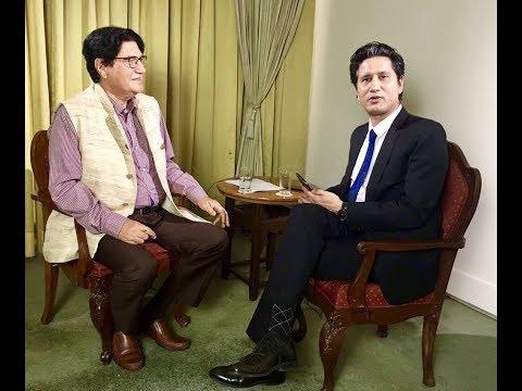 Keshav Kumar Budhathoki in TOUGH talk with Dil Bhusan Pathak
