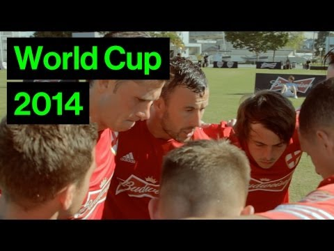 England Squad In Brazil's 6-A-Side World Cup Finals | Budweiser Cup