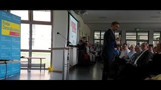 Christian Lindner und die FDP Holzminden haben in die Georg-von-Langen-Schule Holzminden geladen