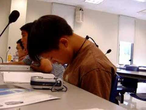 Sbavando in classe