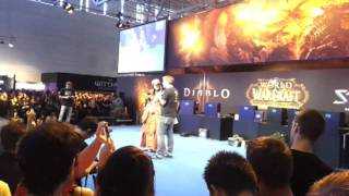 Gamescom 2011 Blizzard Cosplay Contest - World of Warcraft Night Elf Druid - 20.08.2011